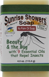 Insect-repellent soap