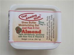 Almond That Amazing Stuff(TM) Solid Moisturizing Bar