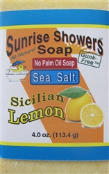 Sea Salt Soap - Lemon